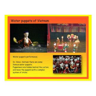 Darstellende Künste, vietnamesische Postkarte