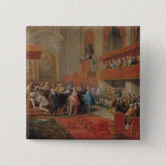 Darstellung des Auftrages von Heiliger Geist zu Quadratischer Button 5,1 Cm