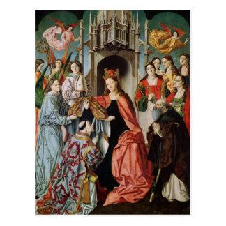 Darstellung des Chasuble zu St. Ildefonso Postkarte