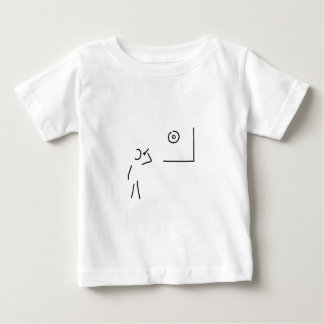 dart spieler zielscheibe wurf pfeil baby t-shirt
