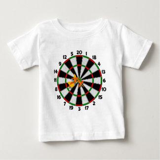 Dartboard-Bullauge Baby T-shirt
