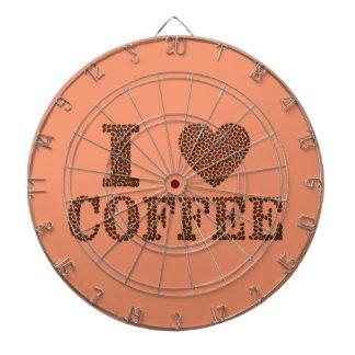 Dartboard für coffeelovers dartscheibe