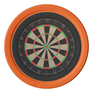 Dartboard-Liebhaber Pokerchips
