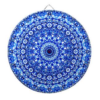 Dartboard-Mandala Mehndi Art G403 Dartscheibe