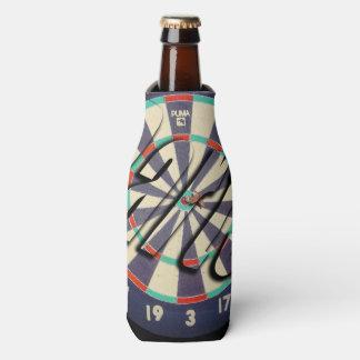 Dartboard-und Pfeil-Logo, Flaschenkühler