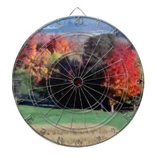 Dartboard, Wisconsin-Landschafts-Fall Dartscheibe