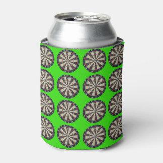 Dartboards auf Limonem Grün, Dosenkühler