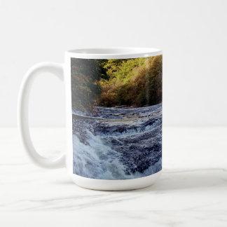 Dartmoor Fluss-Pfeil Vally Rowbrook Autunm Kaffeetasse