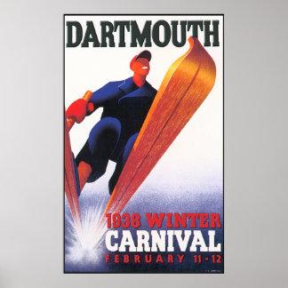 Dartmouth-Winter-Karnevals-Wiedergabe Poster
