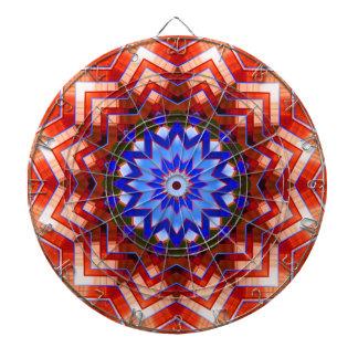 Dartscheibe der Kaleidoskop-Kunst-12