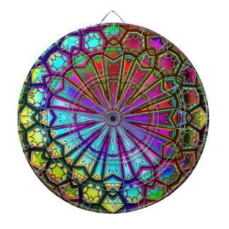 Dartscheibe der Kaleidoskop-Kunst-14
