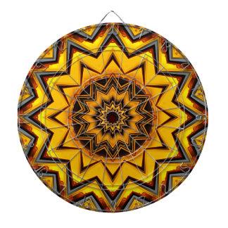 Dartscheibe der Kaleidoskop-Kunst-15