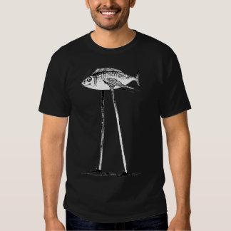 Darwin-Fische auf Stelzen Hemd