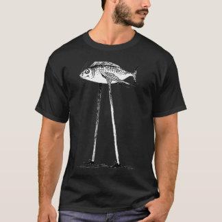 Darwin-Fische auf Stelzen T-Shirt