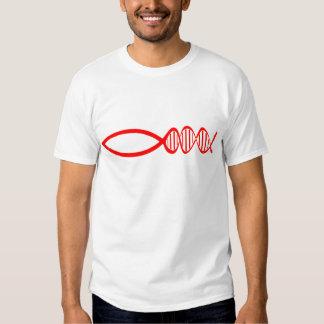 Darwin-Fische T-shirt