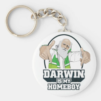 Darwin ist mein Homeboy (farbenreich) Schlüsselband