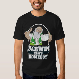 Darwin ist mein Homeboy (farbenreich) Shirts