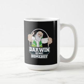 Darwin ist mein Homeboy (farbenreich) Tasse