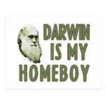 Darwin ist mein Homeboy Postkarten