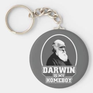 Darwin ist mein Homeboy Schlüsselanhänger