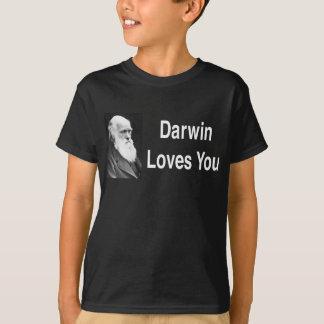 Darwin-Lieben Sie 2 Hemden