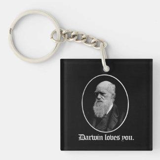 Darwin-Lieben Sie - Team-Evolution - - Schlüsselanhänger