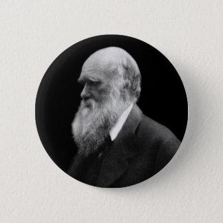 Darwin-Porträt-Knopf Runder Button 5,7 Cm