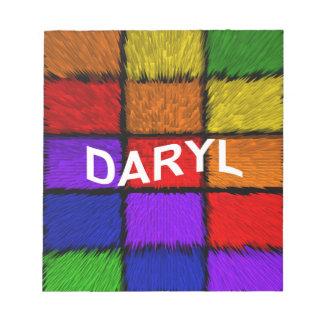 DARYL NOTIZBLOCK
