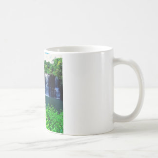 Das abgeschlossene Wasser fällt Kauai Kaffeetasse