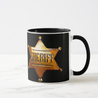 Das Abzeichen-Tasse des Sheriffs (in einigen Arten Tasse