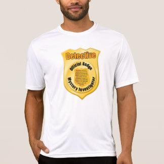 Das aktive T-Stück der Detektiv-Abzeichen-Männer T-Shirt