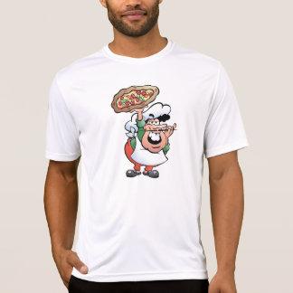 Das aktive T-Stück der Pizza-Bäcker-Männer T-Shirt
