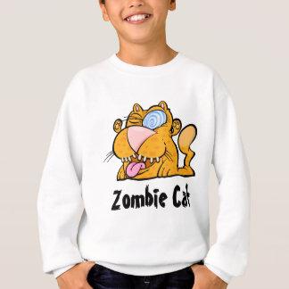 Das alberne der Zombie-Katze Bella Kindes des Sweatshirt