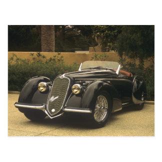 Das Alfa Romeo 8C 2900B ist und sehr ein sehr Postkarte