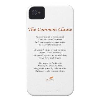 Das allgemeine Klausel-Gedicht iPhone 4 Hüllen