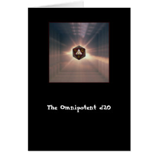 Das allmächtige d20 - Karte