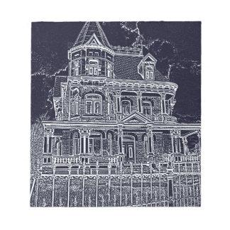 Das alte Haus Notizblock
