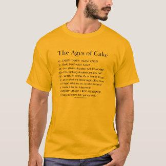 Das Alter des Kuchens T-Shirt