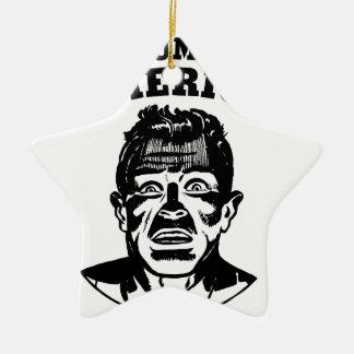 Das Amerika des Trumpfs Keramik Ornament