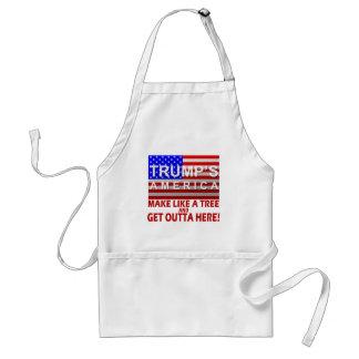 Das Amerika des Trumpfs - machen Sie wie ein Baum Schürze