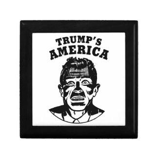 Das Amerika des Trumpfs Schmuckschachtel
