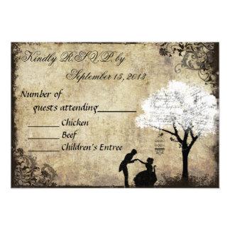 Das Antrag-Vintage Hochzeit UAWG Weiß Individuelle Ankündigungen