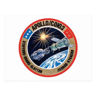 Das apollo--Soyuztest-Projekt (ASTP) Postkarte