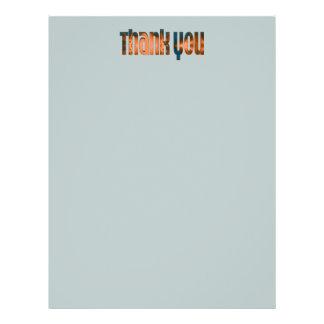 das aquamarine biege danken Ihnen 21,6 X 27,9 Cm Flyer