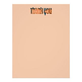 das aquamarine biege danken Ihnen Bedruckte Flyer