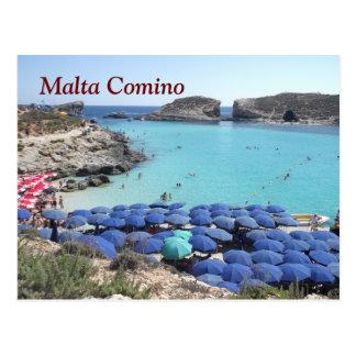 Das Archipel von Malta Postkarte