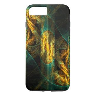 Das Auge der Dschungel-abstrakten Kunst stark iPhone 8 Plus/7 Plus Hülle