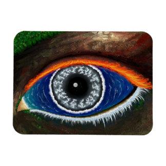Das Auge der Mutter Natur Magnet