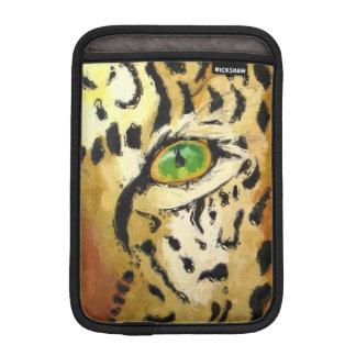 Das Auge des Leoparden (Kunst Kimberlys Turnbull) iPad Mini Sleeve