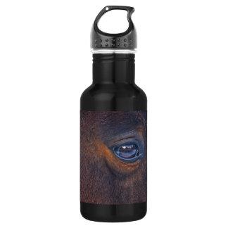 Das Augen-pferdeartiges Foto des schönes Pferds Trinkflasche